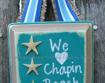 I Love My Beach Sign