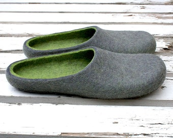 Storm-G   Felt slippers Made to order