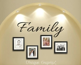 Family Wall Decal Etsy