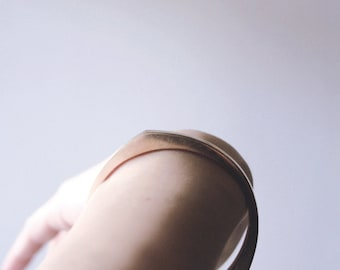 ENLUMINURE / / n ° 10 / / bracelet en bronze