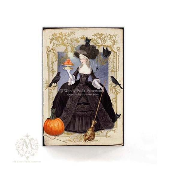 Halloween Karten Halloween Hexe Halloween Einladungen Marie