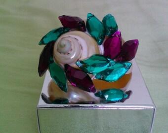 Decorated Beads Seashell. Wavez 6