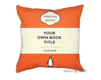 Penguin Books Custom Pillow Case