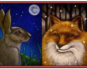 Your Birth Animal Totem & a personal channeled message from them.