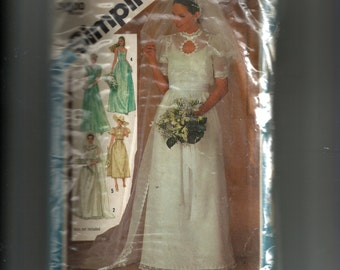Simplicity Bride and Bridesmaid Dress Pattern 6405