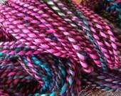 Llama and Wool Yarn Mini Skein