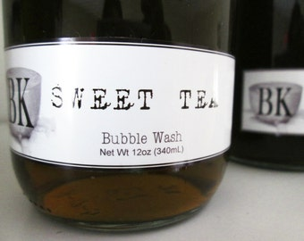 Body Wash SWEET TEA Bubble Bath ... Black Kettle