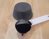 Goat Milk Frankincense and Myrrh Shaving Soap with Charcoal-All Natural-Hand Made-Buy 5 & Get 1 Free