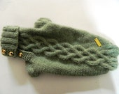 Made to Measure  -  pet sweater -very soft  warm Alpaca wool - many other colors available