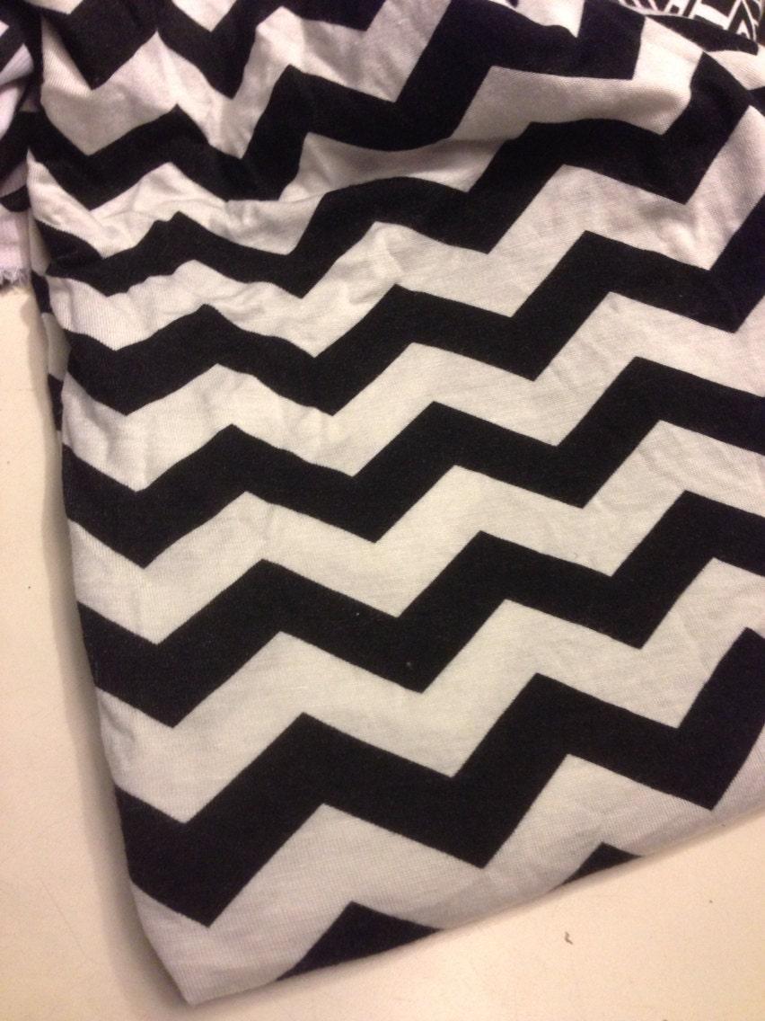 Patterns For Knit Fabric : Rayon Jersey Knit Fabric Chevron Pattern 5/8 Yards by FABULACE