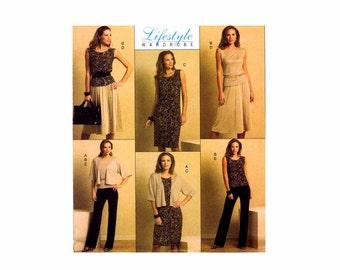 Misses Jacket Top Dress Skirt Pants Butterick 5190 Sewing Pattern Size 8 - 10 - 12 - 14 Bust 31 1/2 - 32 1/2 - 34 - 36 Uncut