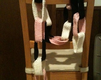 """It's A """"Paper"""" Chain Scarf - CLEARANCE"""
