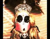 Altar Dolls,Custom Voodoo Loa Ghede dolls, Hoodoo,cemetery (made to order)