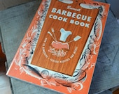 Vintage Sunset Barbecue Cookbook, USA, Glamping, Camping, Trailer,