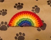 Super Awesome Crochet Rainbow Catnip Toy - For your Cat