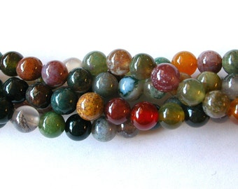 Indian Agate Beads 8mm (45)