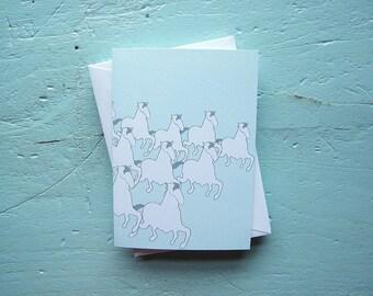 horse herd note set