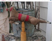 CustomerAppreciation Sale Primitive Christmas Believe in the Magic Reindeer