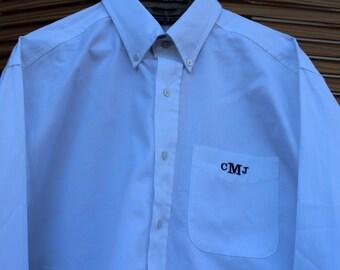 Popular Items For Monogram Dress Shirt On Etsy