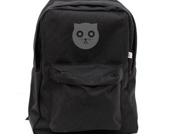 Backpack: Watson the Cat, Nylon Backpack, Rucksack, Laptop Backpack, Hipster Backpack, Kids Backpack, School, Mens Backpack, Womens Backpack