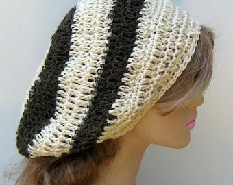 Hemp Wool slouchy beanie Dread Tam Slouchy Hat