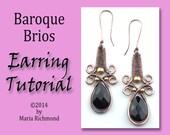 Baroque Brios Earring Tutorial
