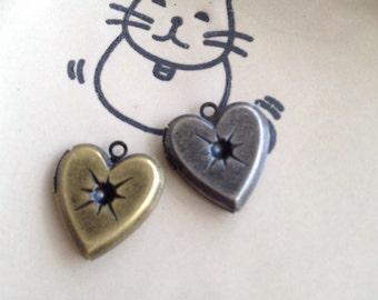 HEART LOCKET 16x16mm - code 218.983