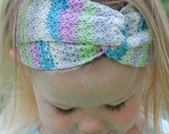 Turbante Headband - Knitting Pattern