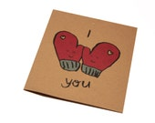 "Anniversary ""I love You"" Greeting Card"