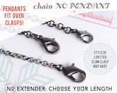 Gunmetal Chain - CHAIN ONLY - You Choose Chain and Length