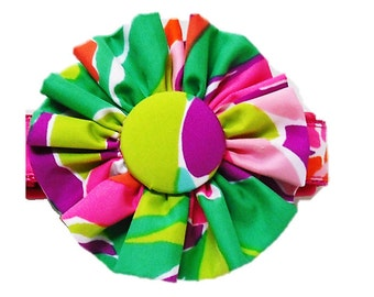 FABRIC FLOWER Add on: Made from Lilly Pulitzer Lulu Fabric