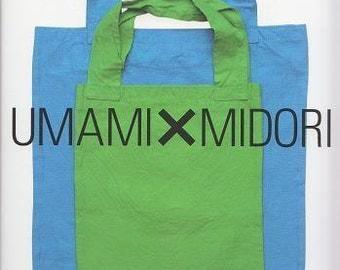 UMAMI x MIDORI BAGS - Japanese Craft Pattern Book
