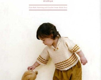 Cute Baby Knitting and Crochet Items Made Easy - Japanese Craft Book MM