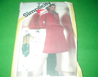 Vintage Simplicity Pattern Fitted Dress and Jacket