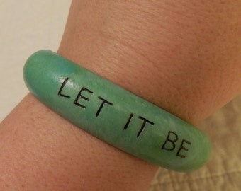 Let It Be Bangle