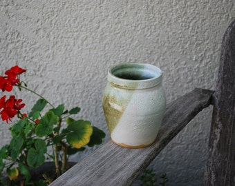 Vintage Handmade  Pottery Stoneware Vase