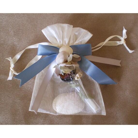 Faerie bubbles drawstring bag bubble wand necklace seashells fairy catcher