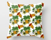 Cerasee - Jamaican Botanicals Throw Cushion Covers (pillow insert not included)