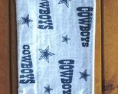 Dallas Cowboys Travel or Makeup Zipper Pouch