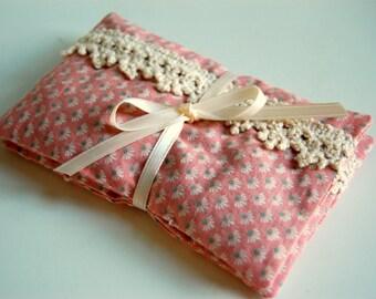 Romantic Lace Organic Lavender Sachets / fragrance sachets / drawer sachet / dryer sachet chemical free / vintage lace shabby chic rose pink