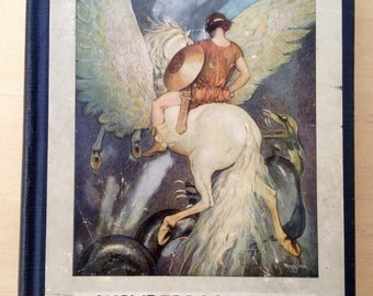 Gustaf Tenggren Illustrated Nathaniel Hawthorne Book 1923 Wonder-Book and Tanglewood Tales