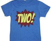 Superhero 2nd Birthday T-Shirt