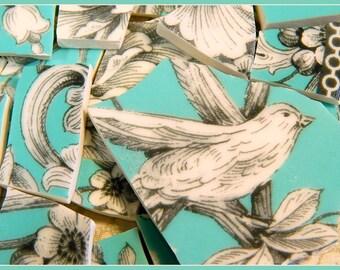 Mosaic Tiles -  AQuA BiRD TOiLE CHaRMiNG - China Mosaic Tiles