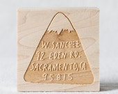 Mountain Custom Stamp