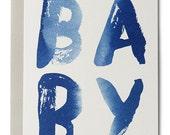 Baby Indigo Card