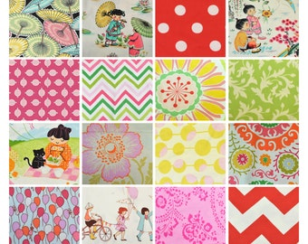 One Pound Cotton Scrap Bag!!  Over 30 pieces in each bag!  Riley Blake - Michael Miller - Amy Butler, and more!