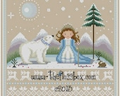 Northern Princess Cross Stitch Pattern
