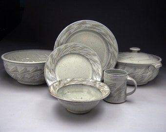 4 Piece Dinnerware Place Setting - Made to Order