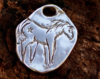 Be Free Horse Charm in Sterling Silver