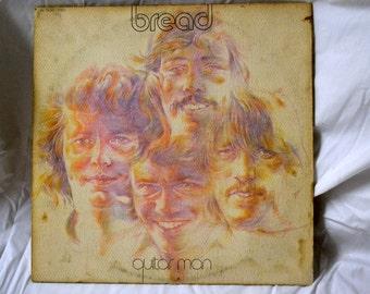Vintage Music Album Guitar Man Bread 1972 1970's Music
